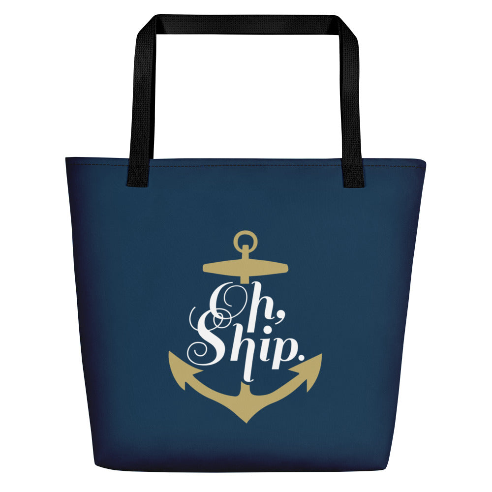 The Oh Ship Beach Bag