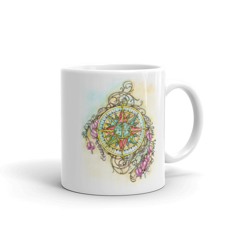 Blooming Compass - Mug