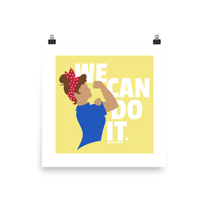 We Can Do It - Rosie the Riveter Art Print