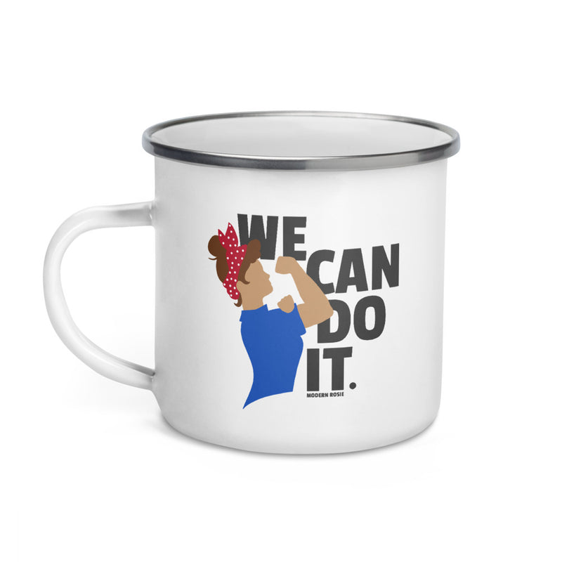 We Can Do It - Rosie the Riveter - Enamel Camp Mug