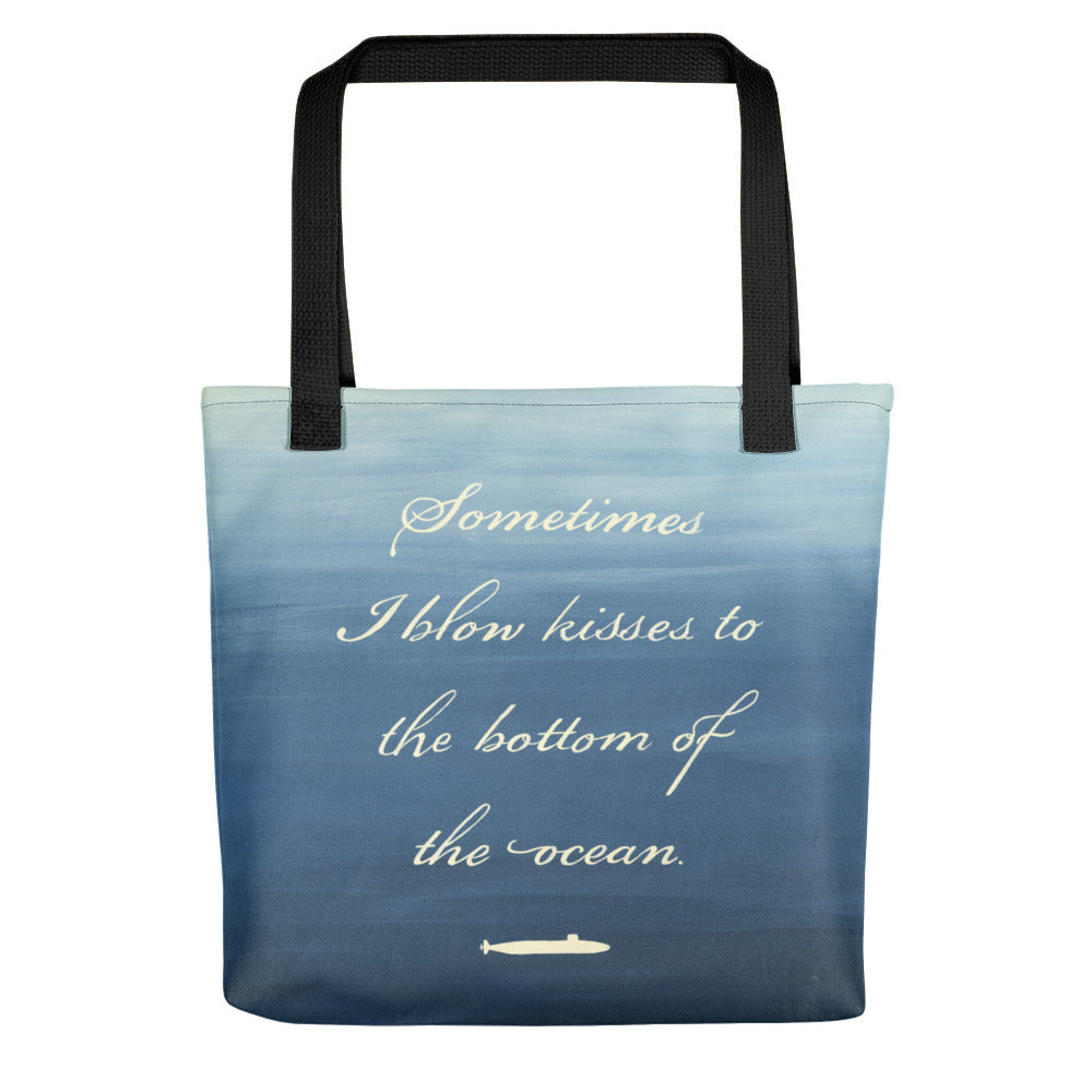 Kisses to Submarines Tote bag