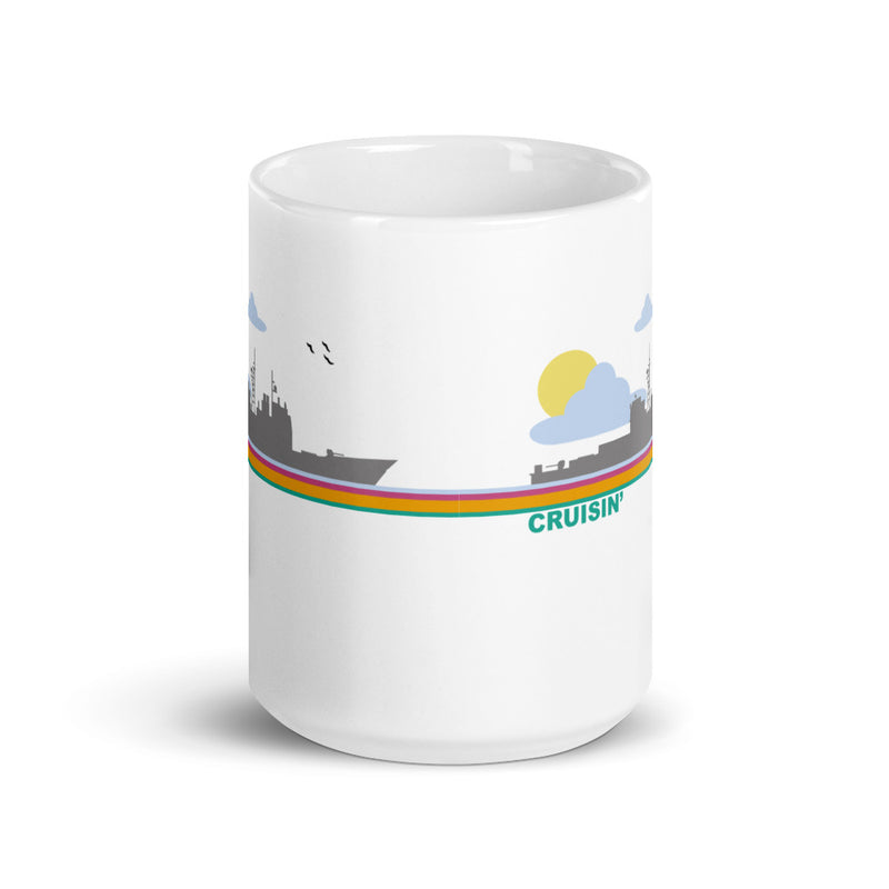 Cruisin' - (Cruiser) Coffee Mug