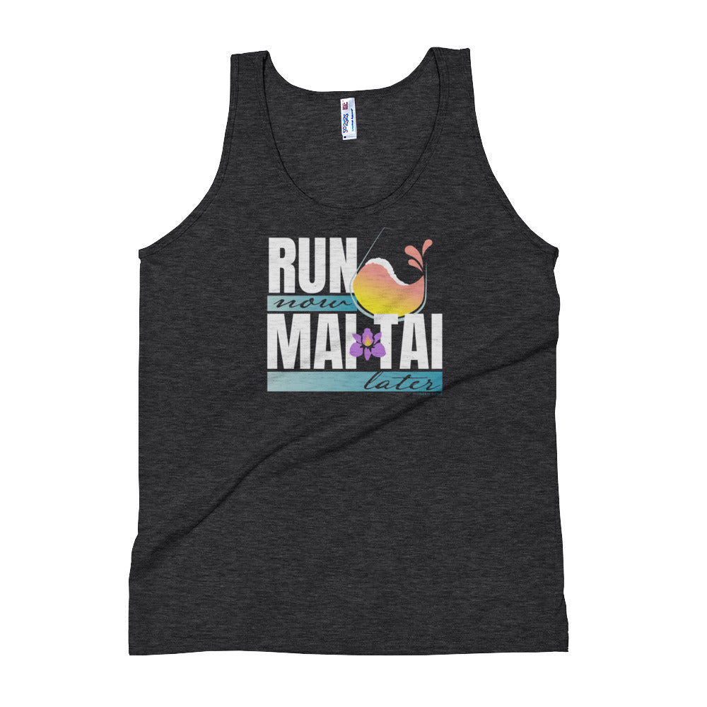 Run Now Mai Tai Later -  Tank Top