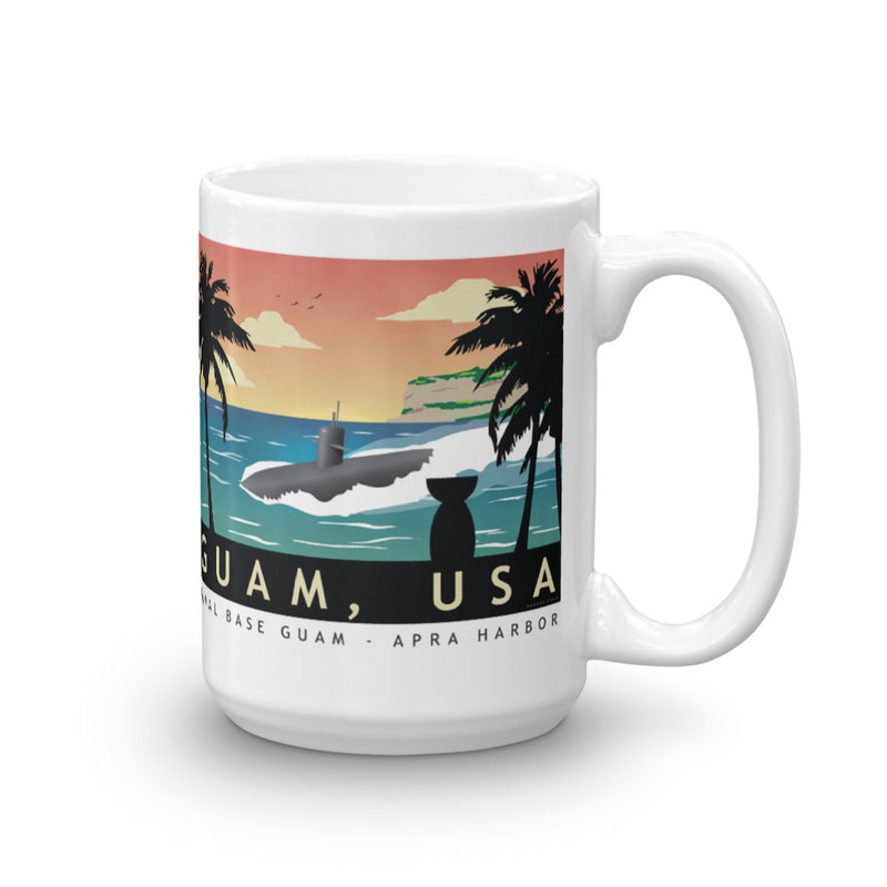 Guam Submarine Base - Coffee Mug
