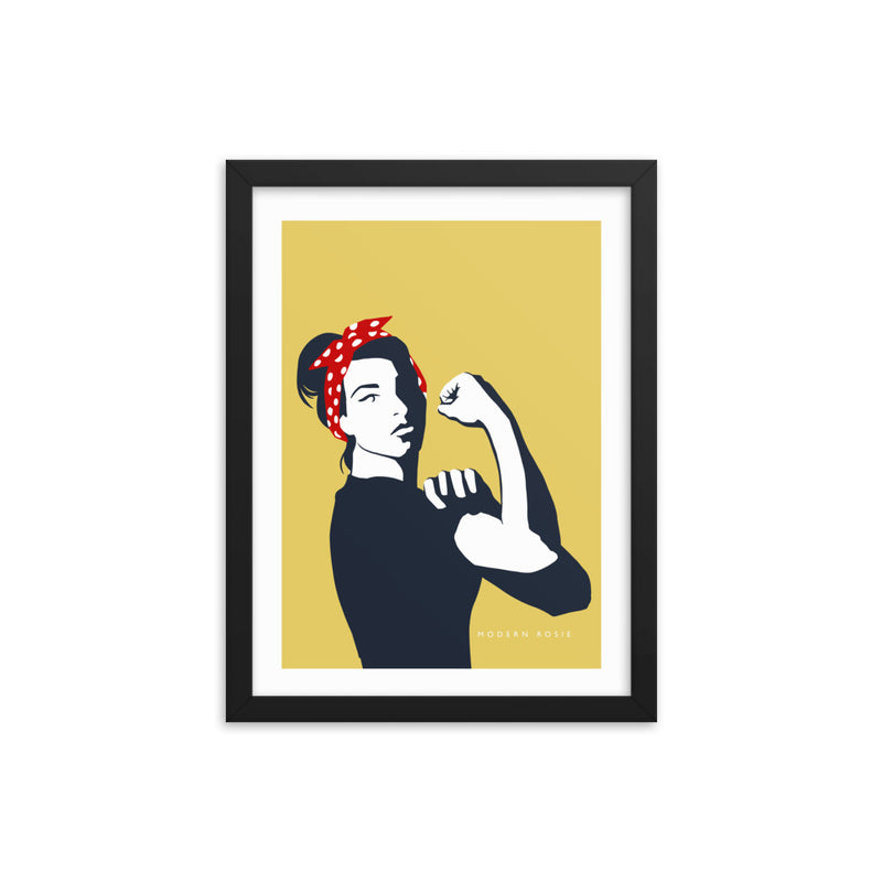 New Rosie - Framed Print