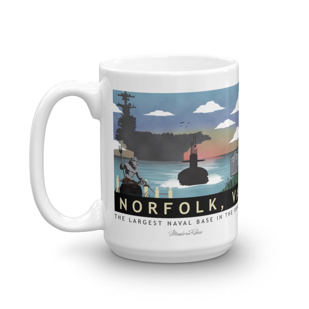 Norfolk Submarine Base - Coffee Mug