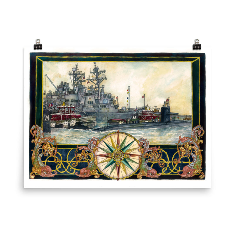 Return to Port - Art Print