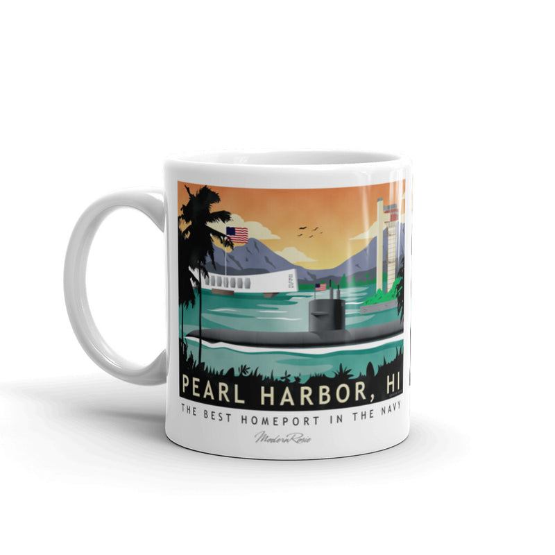 Pearl Harbor Submarine Base - Coffee Mug