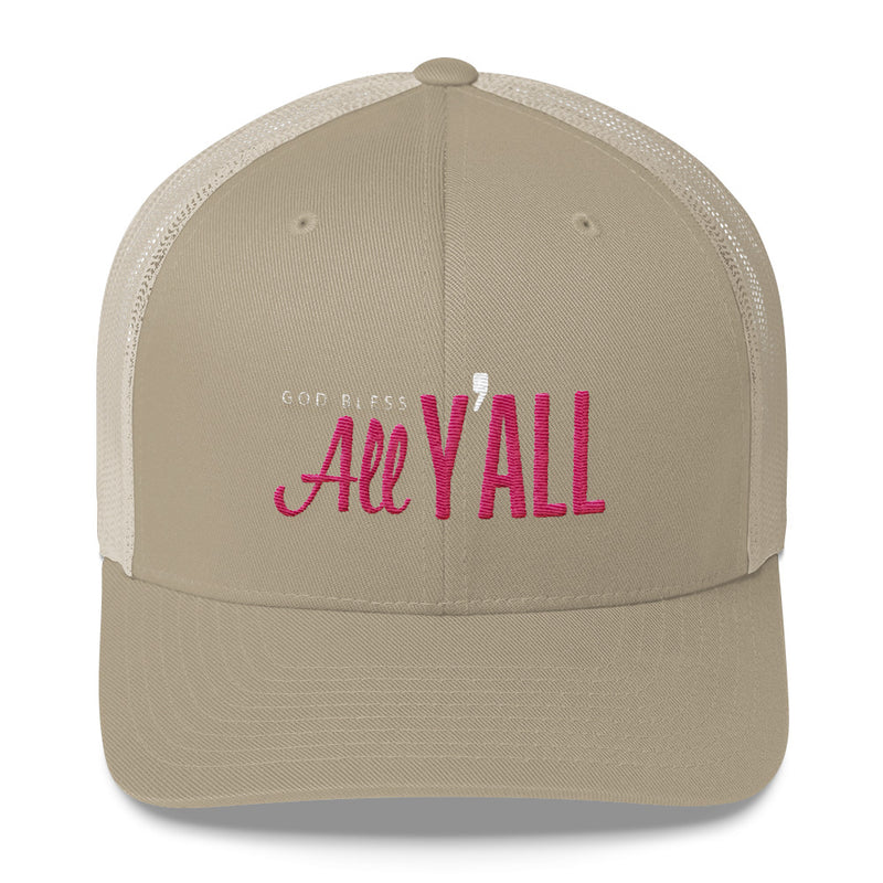 The All Y'all Hat - Embroidered Trucker Hat