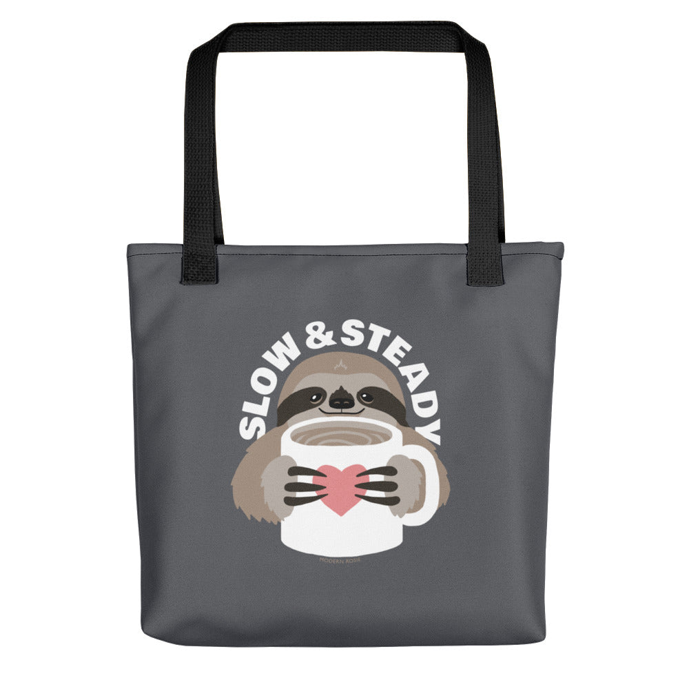 Slow and Steady Sloth Tote bag
