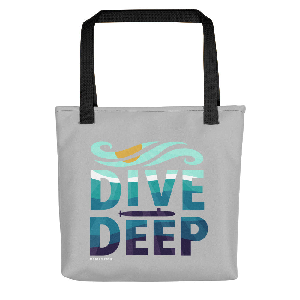 Dive Deep Tote bag