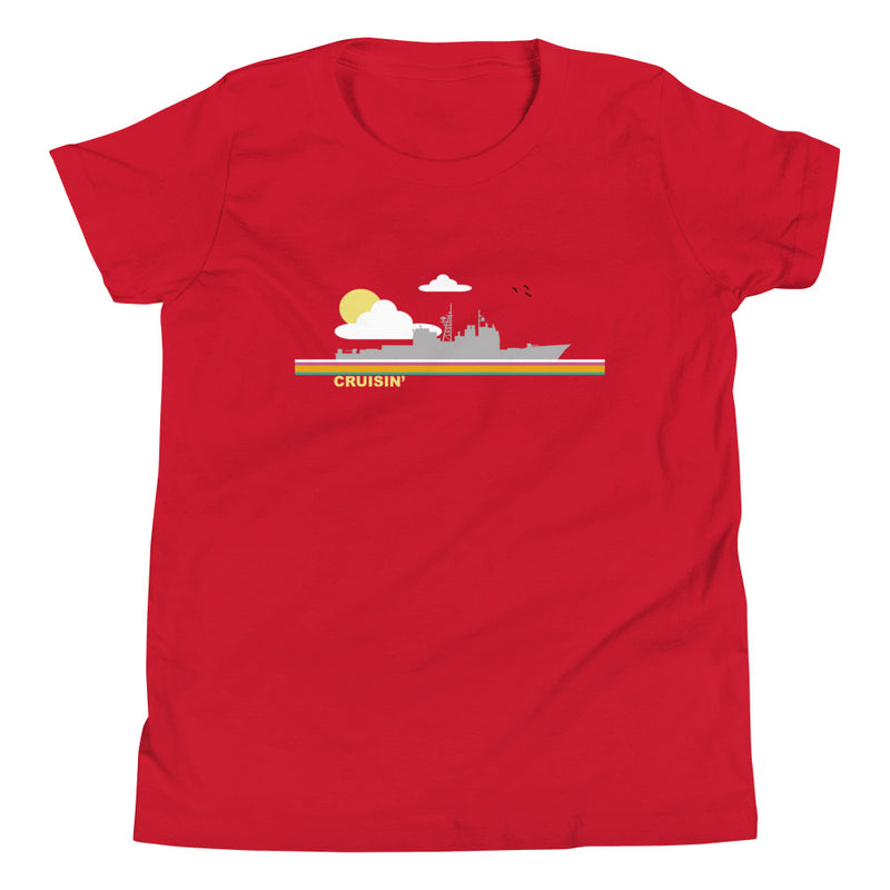 Cruisin' - (Cruiser) Youth Short Sleeve T-Shirt