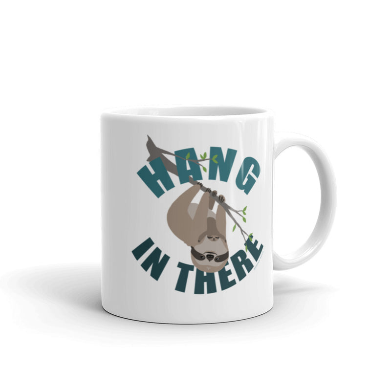 Hang in There Sloth Mug