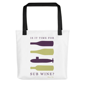 Sub Wine Tote bag from Modern Rosie