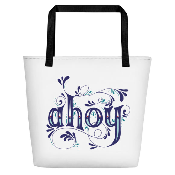 The Ahoy Beach Bag