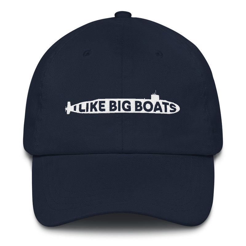 I Like Big Boats - Classic Embroidered Ball Cap