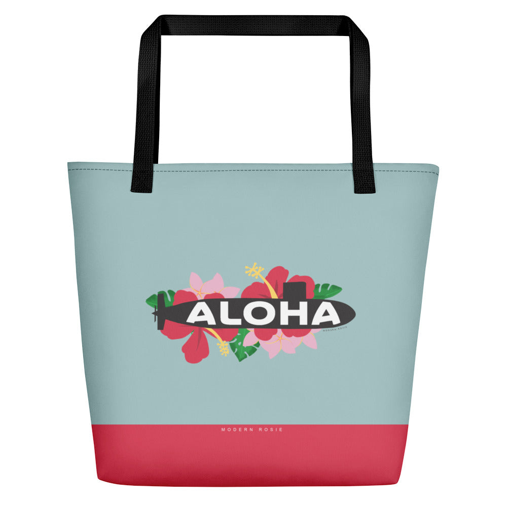 The Aloha Sub Beach Bag