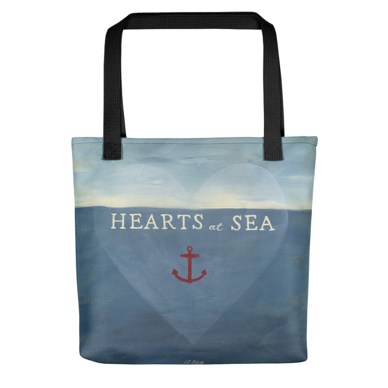 Hearts At Sea Tote bag