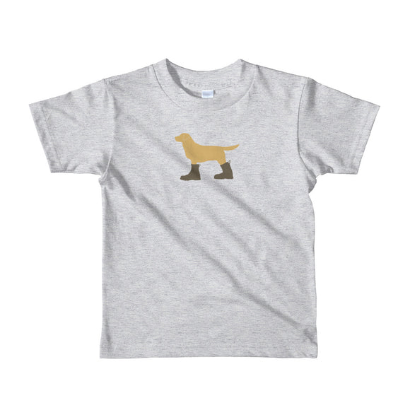 "The ""Dog in Combat Boots"" Tee - little kids from Modern Rosie"