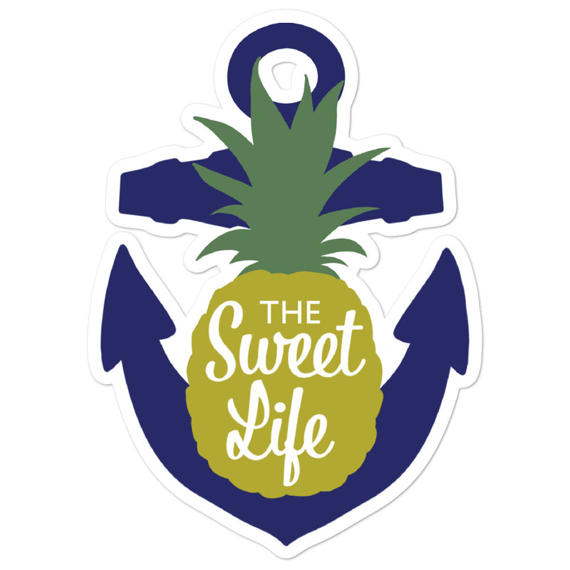 Pineapple Anchor Sweet Life - sticker