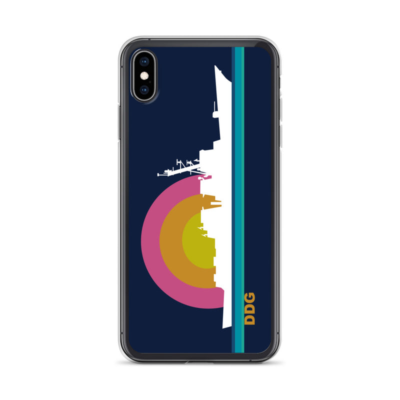 Destroyer Sunset  - iPhone Case