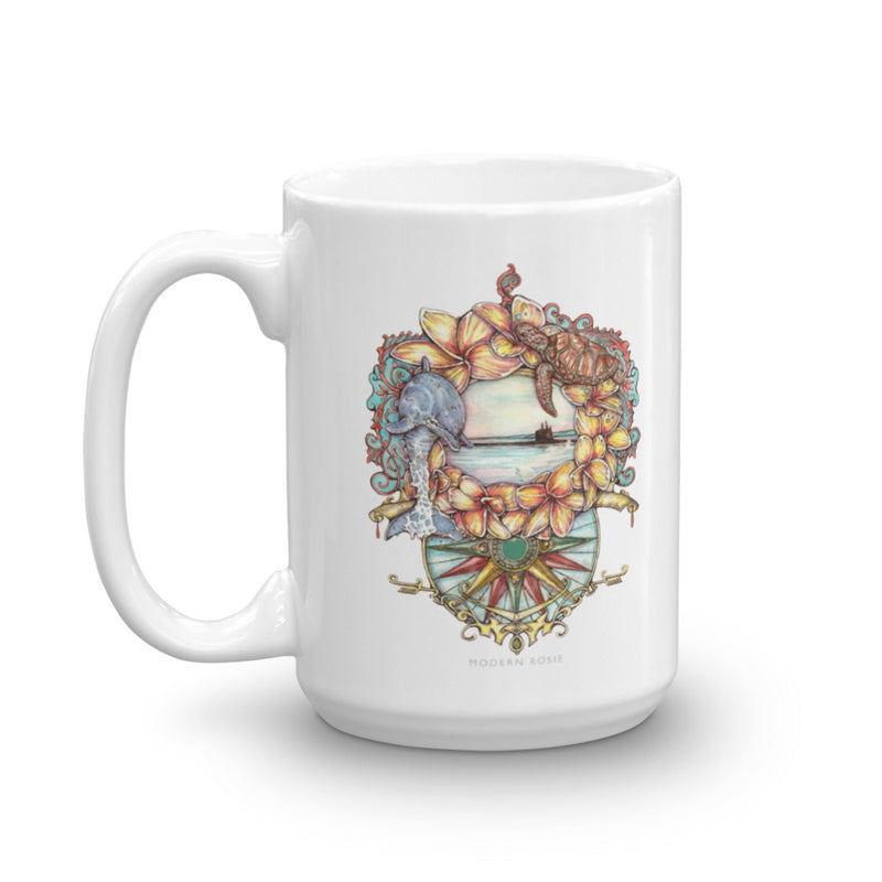 Aloha Submarine - Coffee Mug
