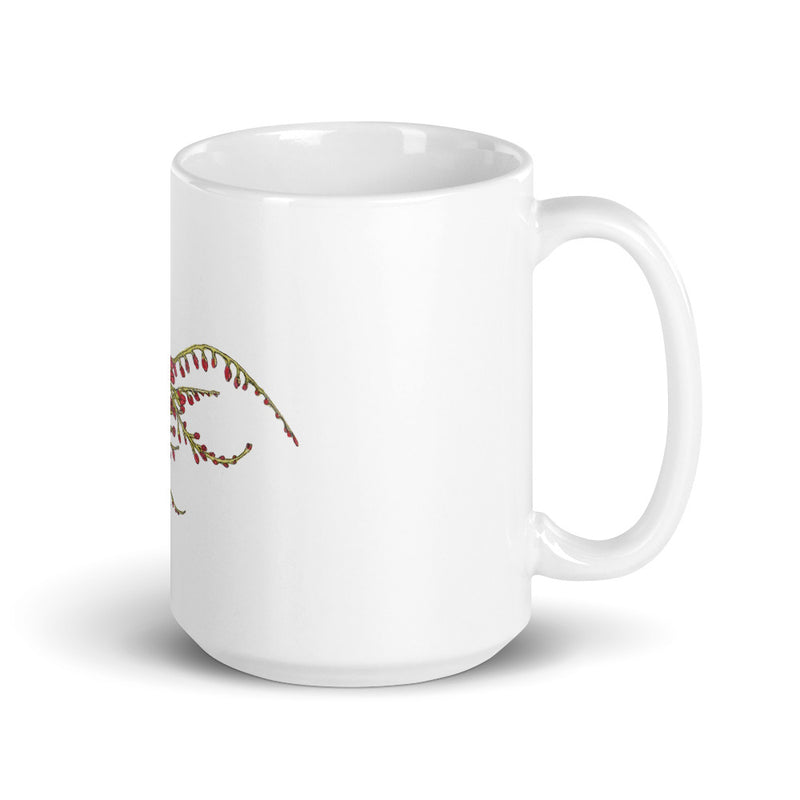 Blooming Compass: Freesia of the Pacific Islands - Coffee Mug