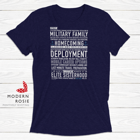 The Navy Wife Tee