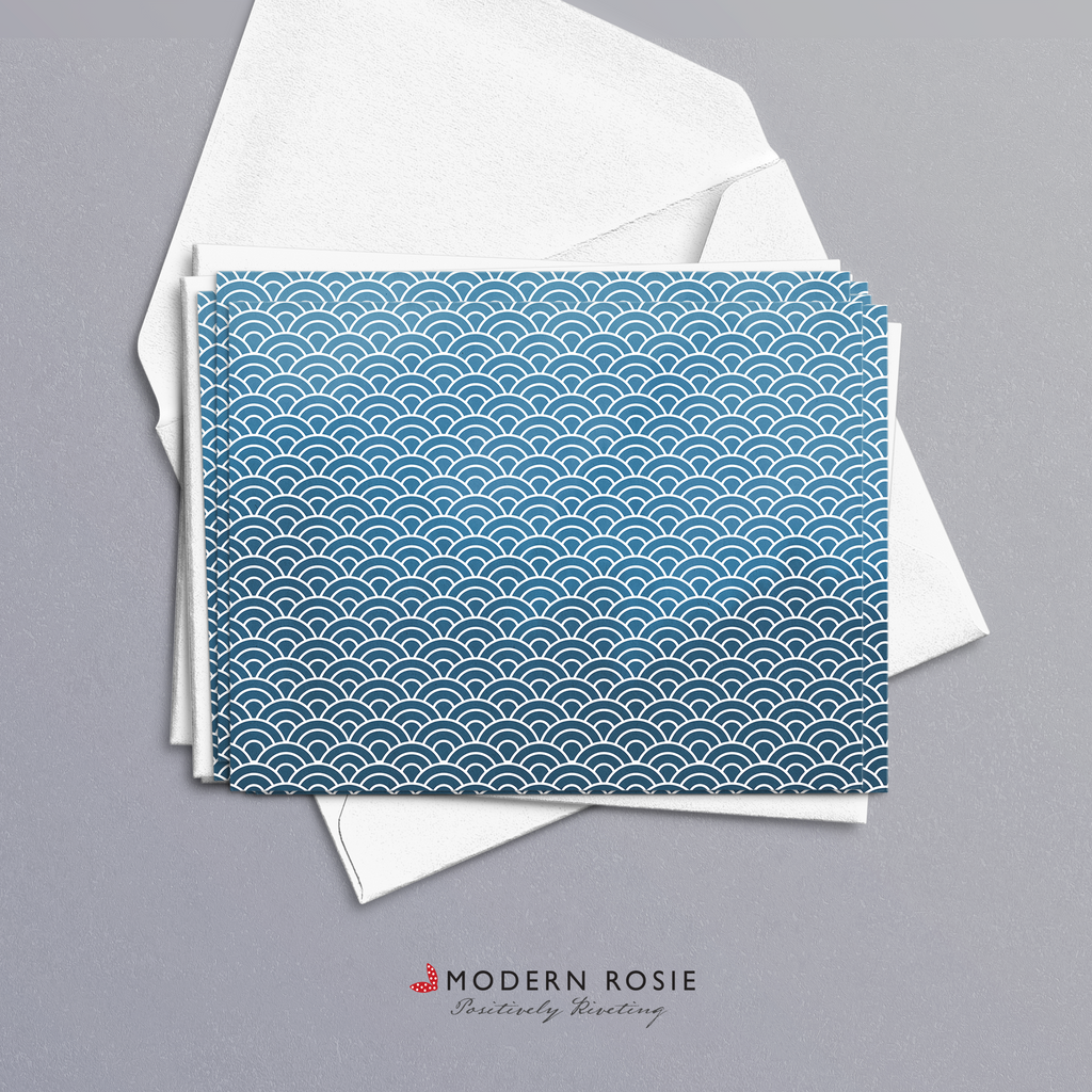 Open Ocean - 4x5 Folded Card Pack