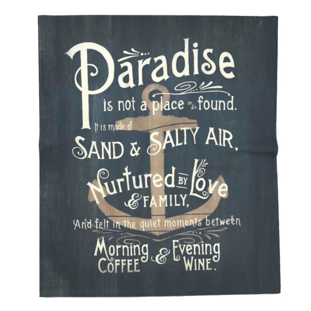 Paradise Super Soft Fleece Blanket