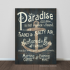 Paradise - Art Canvas