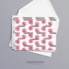 Subs and Roses - 4x5 Folded Card Pack
