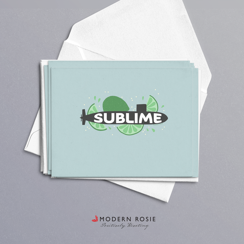 Sublime - 4x5 Folded Card Pack