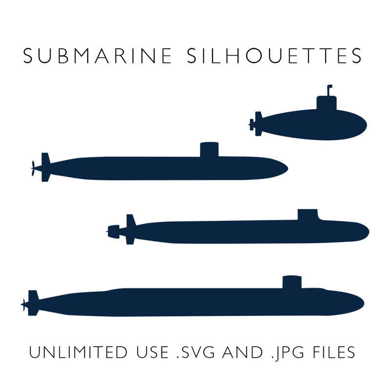 Submarine Silhouettes - Digital Download
