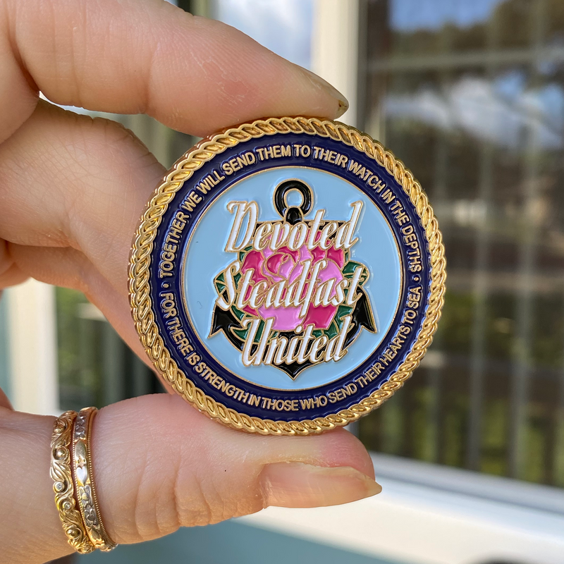 The Submarine Mermaid Sisterhood Challenge Coin