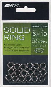 BKK Solid Rings - Tackle West