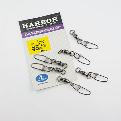 Harbor Ball Bearing + Crosslock Snap - Tackle West
