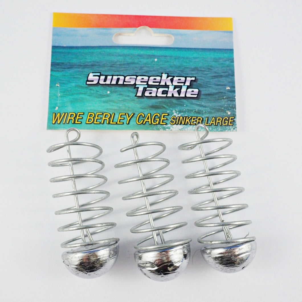 Sunseeker Sinking Wire Burley Cage Large - Tackle West