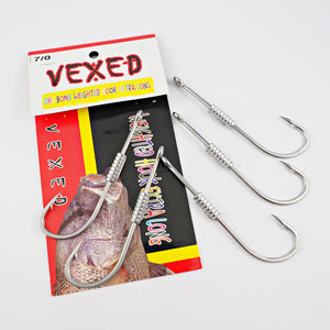 Vexed Weighted Spare Hooks Long - Tackle West