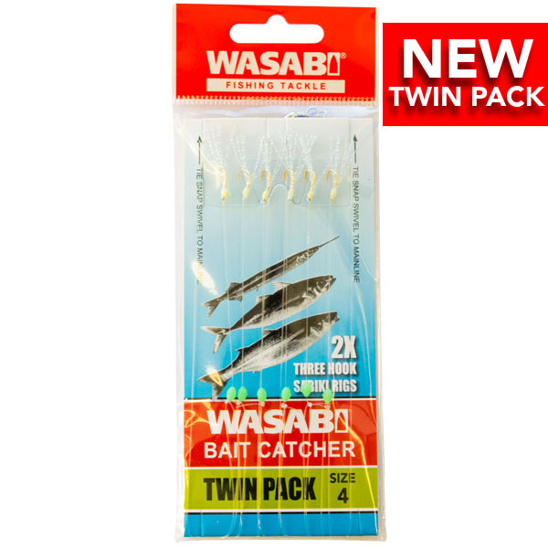 Wasabi Bait Catcher Twin Pack - Tackle West