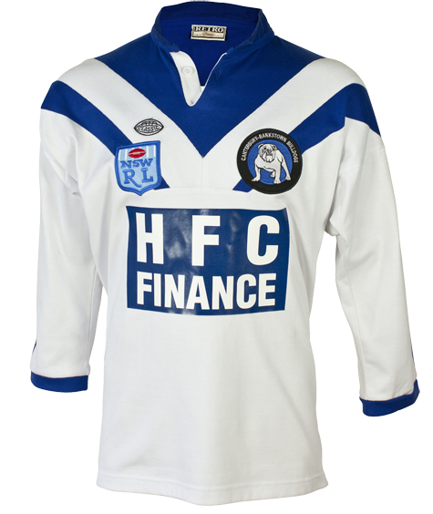 1985 Canterbury Bankstown Bulldogs Retro Jersey