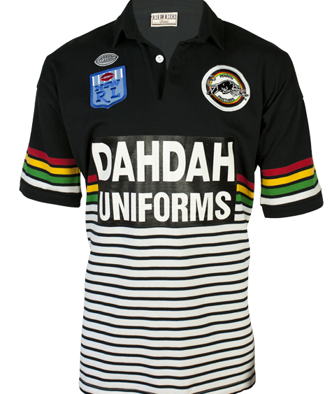 1991 Penrith Panthers Retro Jersey
