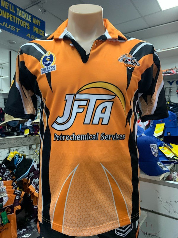 2005 Wests Tigers Retro Jersey