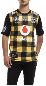 2020 New Zealand Warriors Kiwi Bushshirt Jersey