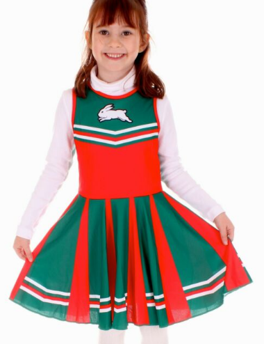 Rabbitohs Cheerleader Dress - CALL STORE TO ORDER 029891 2655