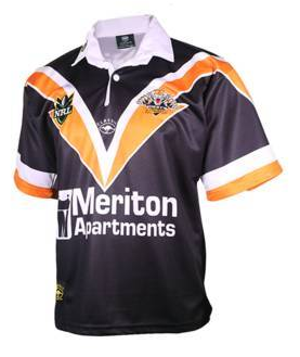 2000 Wests Tigers Retro Jersey