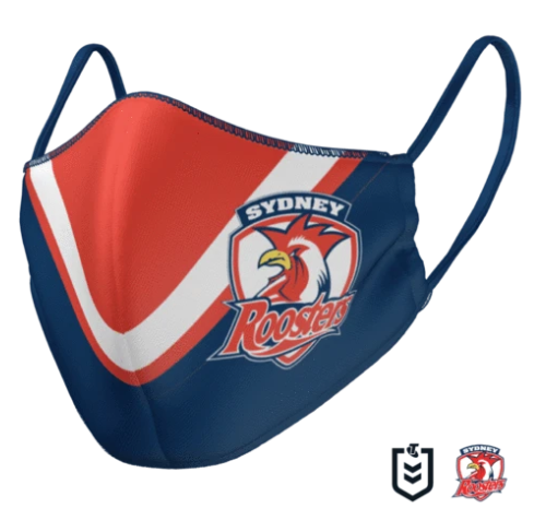 Roosters Face Mask - Reversible