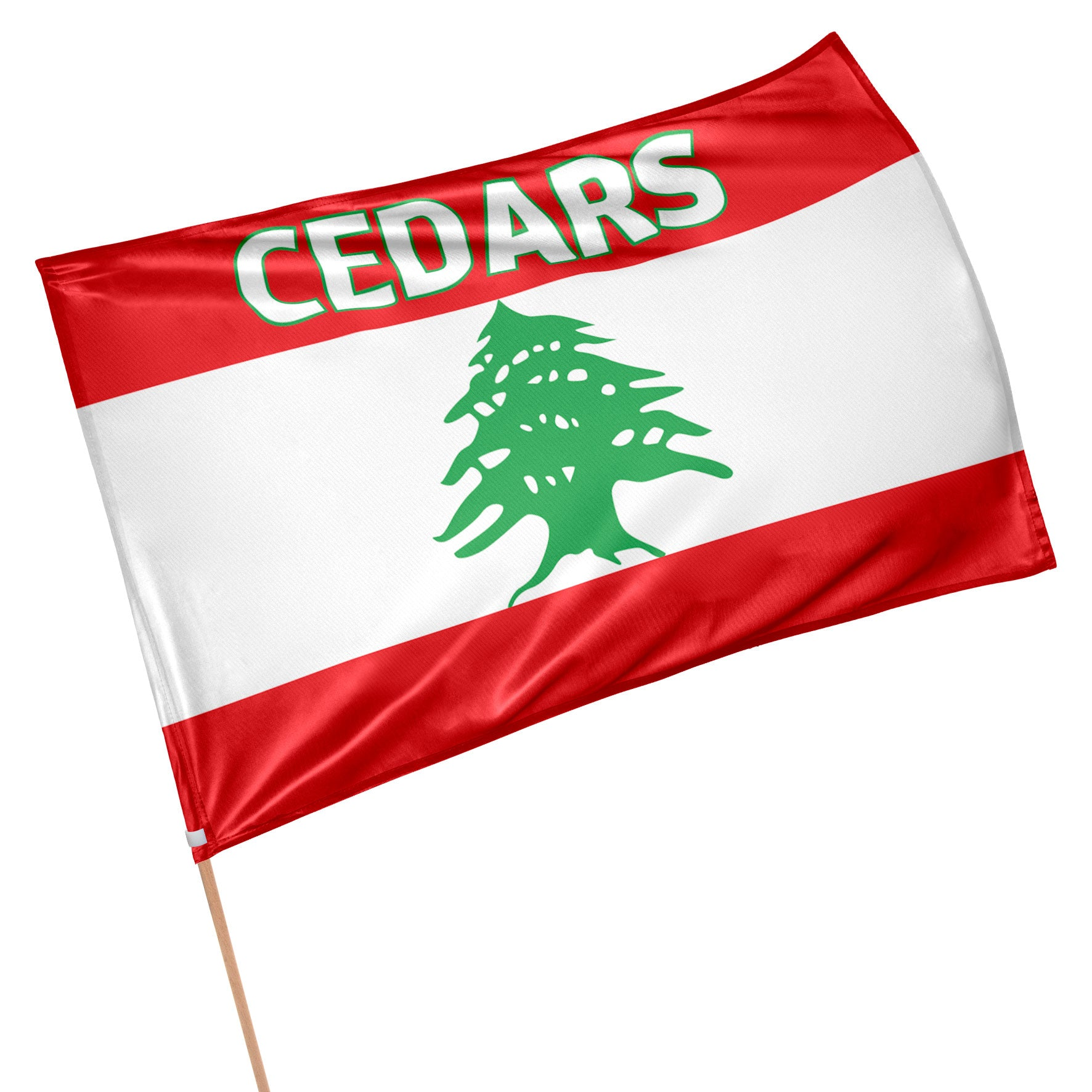 Lebanon World Cup 9's Flag (90cm x 60cm)