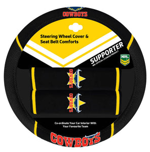 Cowboys Steering Wheel Cover