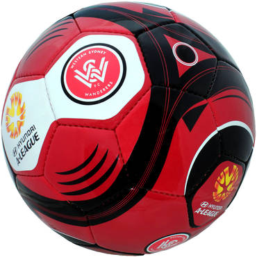 Western Sydney Wanderers Size 5 Supporter Ball